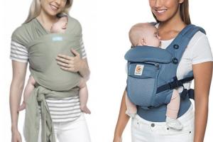 ¿Fular o mochila portabebés?