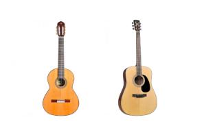 ¿Guitarra acústica o clásica?