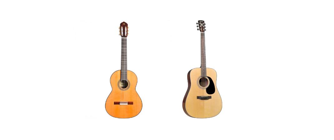 guitarra acustica o clasica