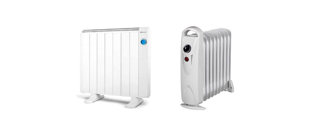 radiador electrico o de aceite