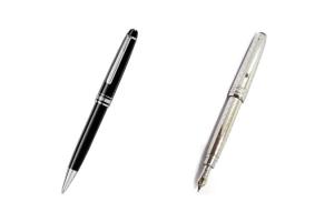 ¿Bolígrafo o pluma?