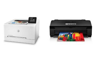 ¿Impresora láser o de tinta?