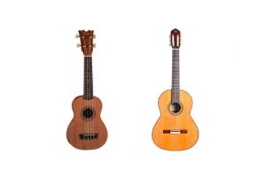 ¿Ukelele o guitarra?