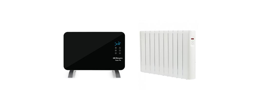 panel radiante o emisor termico