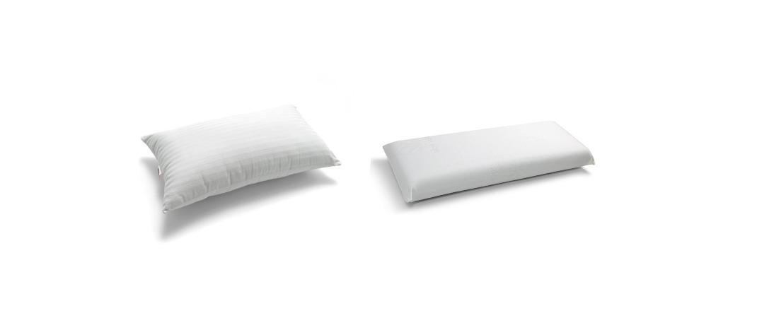 Almohada de fibra o viscoelastica