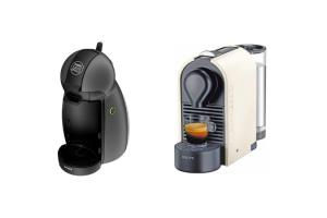 ¿Cafetera Dolce Gusto o Nespresso?