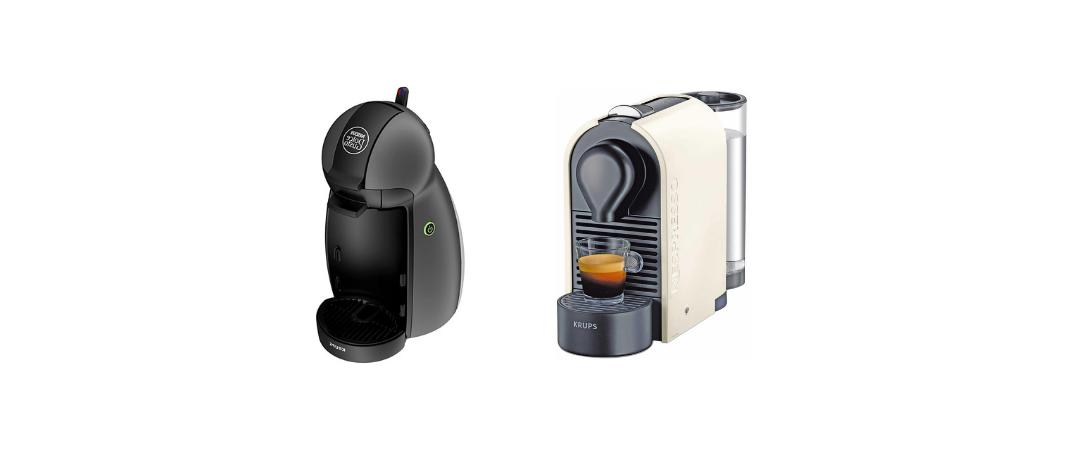 Cafetera Dolce Gusto o Nespresso
