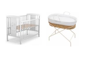 ¿Cuna o moisés para bebé?