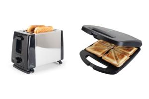 ¿Tostadora o sandwichera?