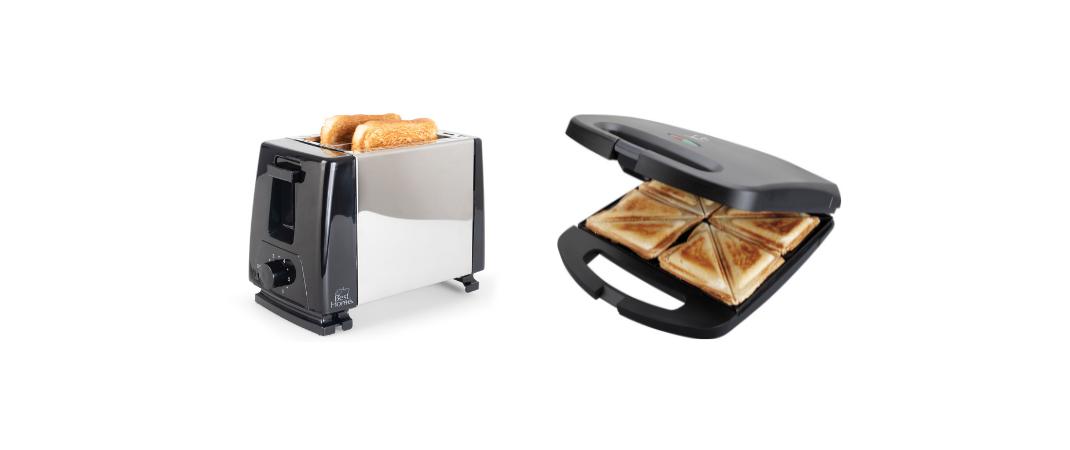 Tostadora o sandwichera